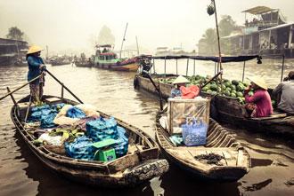 Delta Mekongu Wietnam wakacje wycieczki ciekawe miejsca