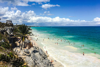 Meksyk Tulum najpiękniejsze plaże wakacje wycieczki wczasy egzotyczna podróż