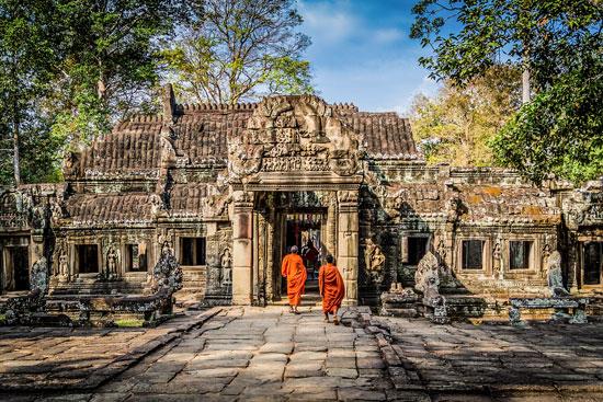 Kambodża Angkor Wat