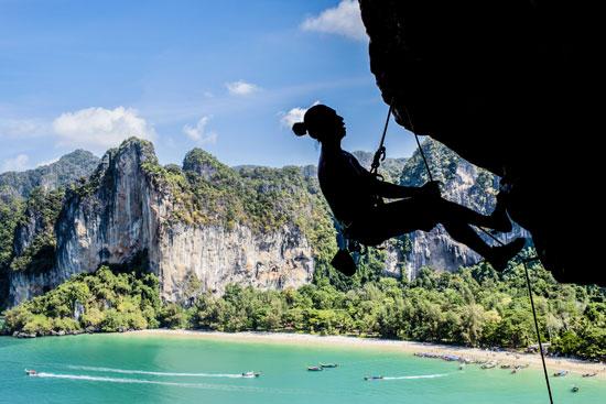 Tajlandia, półwysep Railay