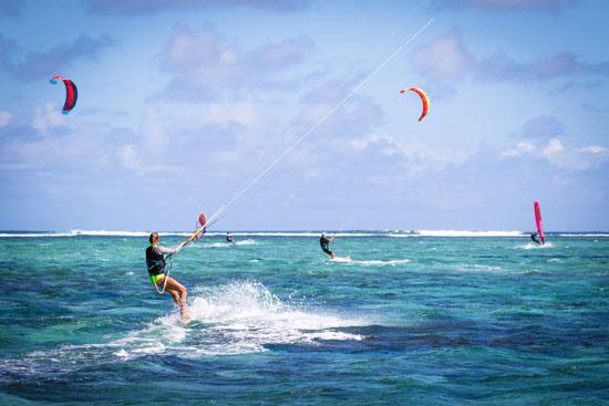 Filipiny, Boracay, kitesurfing, Bulabog Beach