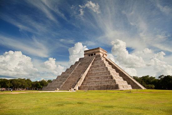 Meksyk półwysep Jukatan Chichen Itza Coba świątynie Majów