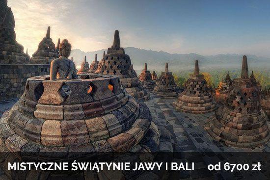 Mistyczne Świątynie Jawy i Bali