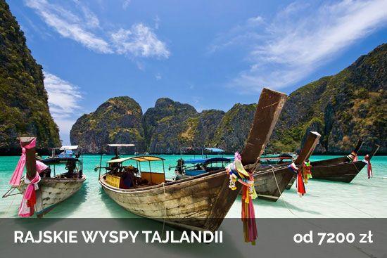 Rajskie Wyspy Tajlandii