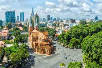 Sajgon Wietnam wakacje wycieczki ciekawe miejsca