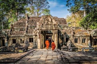 Kambodża Angkor świątynie najciekawsze miejsca wakacje wycieczki wczasy egzotyczna podróż