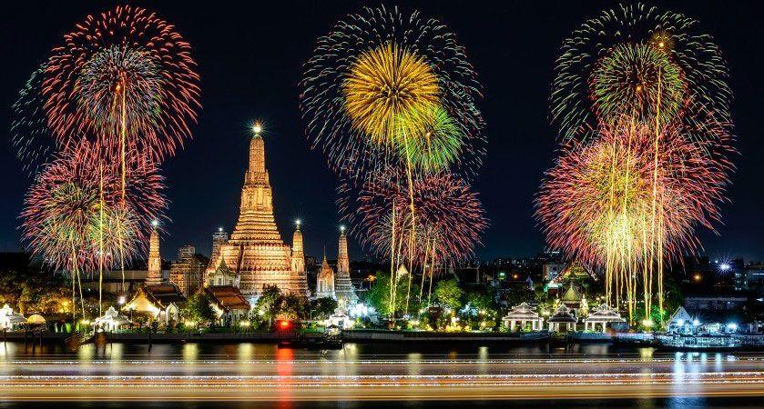 Bangkok Sylwester