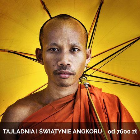 Tajlandia i Świątynie Angkoru