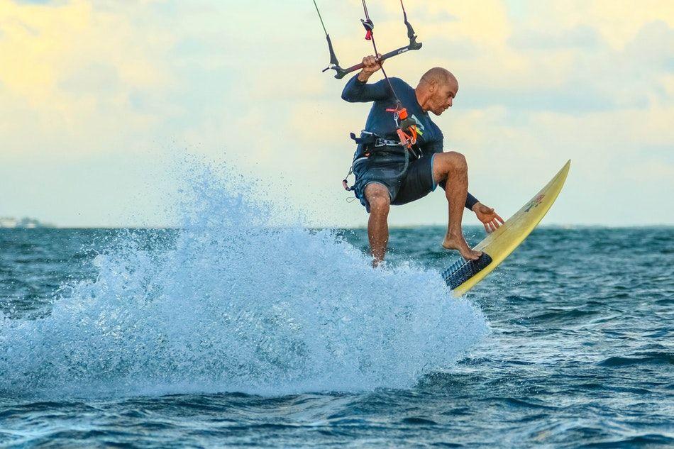 kitesurfing na wczasach