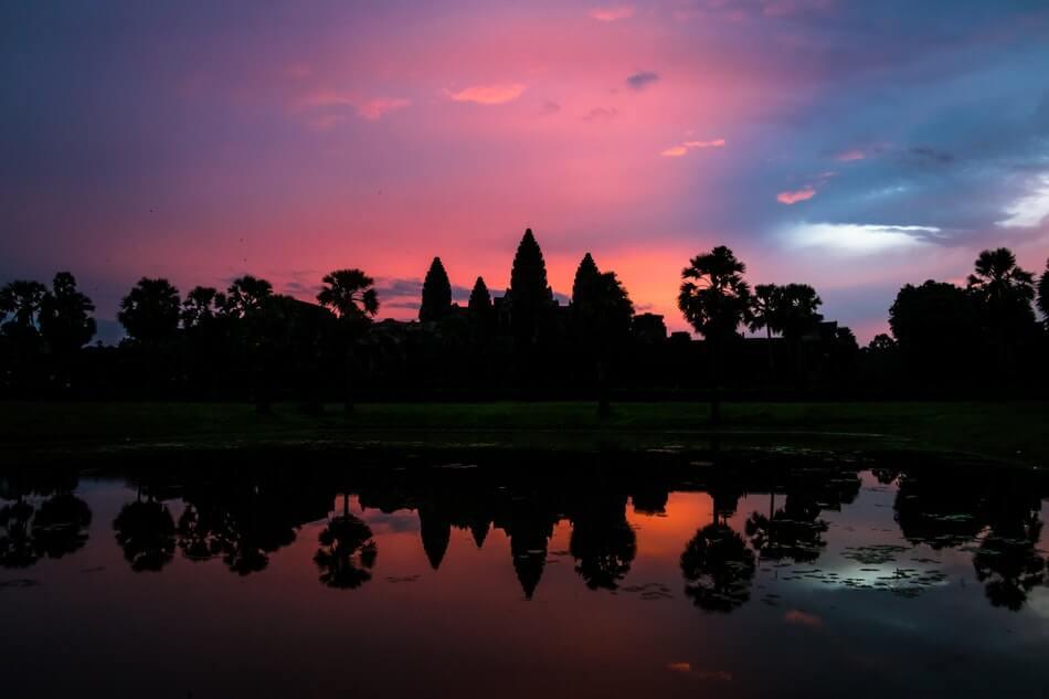 Kambodża atrakcje